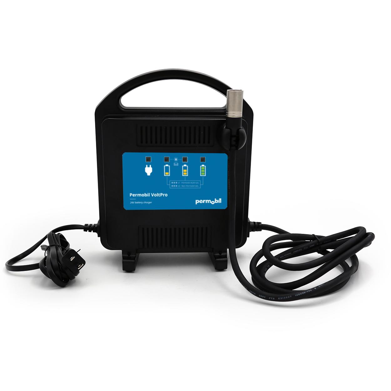 Chargeur fauteuil roulant électrique Permobil M1 Plus Santé