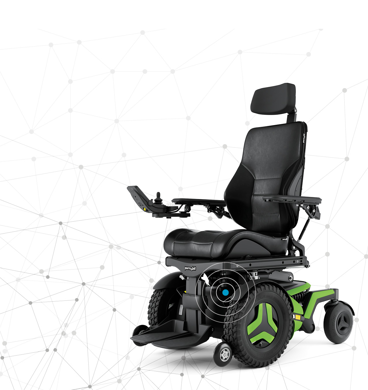 Power Wheelchair With Graphics