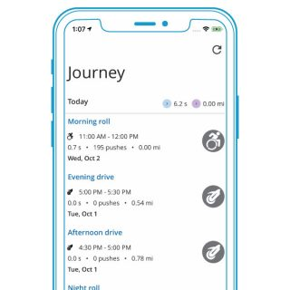 PushTracker App Journey Function